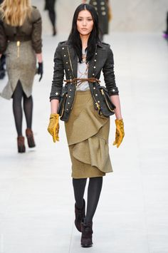 burberry prorsum; fall '12