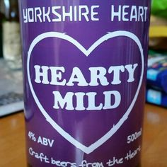 Tasty, easily drinkable mild. #tryanuary - Drinking a Hearty Mild by Yorkshire Heart