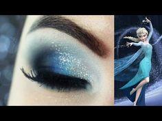 Maquiagem Frozen - Christmas Makeup Tutorial
