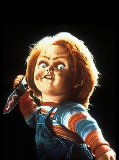 'Chucky' Poster by GenoApparell Horror Posters, Horror Icons, Horror Films, Horror Art, Chucky Horror Movie, Chucky Movies, Horror Movie Characters, Scary Halloween, Halloween Themes