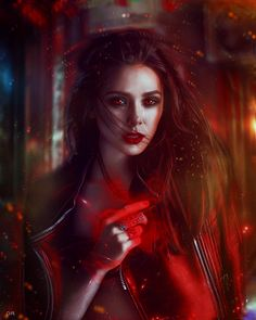 Scarlet Witch by DollyRock.deviantart.com on @DeviantArt
