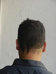 hair tattoo- so cool!!