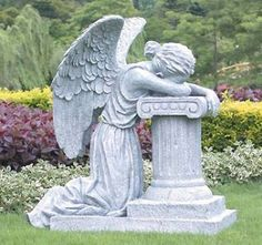 Grieving Angel Statue | Inspirational Figurines And Plaques | Pinterest | Angel  Statues, Angel And Cemetery