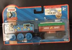 """New! THOMAS & FREINDS Wooden Railway """"& THE BUZZY BEES"""" Retired Exclusive SEALED #LEARNINGCURVE"""