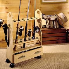 Amazon.com - Fishing Rod Rack - Fishing Pole Rack
