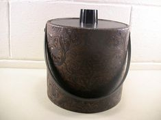 Vintage Ice Bucket Vintage Barware Insulated Ice Bucket Fancy