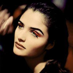 """80s-90s-supermodels: """" Photographer : Rohn Meijer Model : Helena Christensen """""""