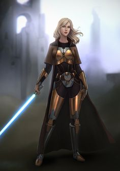 Commission by Sonya Kayuda - Star Wars Women - Ideas of Star Wars Women women - Commission by Sonya Kayuda Star Wars Jedi, Star Wars Mädchen, Star Wars The Old, Star Wars Girls, Star Wars Fan Art, Star Wars Concept Art, Images Star Wars, Star Wars Characters Pictures, Star Wars Pictures