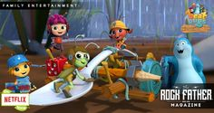Get Ready for More Musical Adventure with Netflix's Beat Bugs! via @therockfather