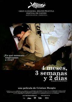 4 meses, 3 semanas, 2 días (2007) Rumanía. Dir: Cristian Mungiu. Drama. Anos 80. Cine social. Feminismo - DVD CINE 1132