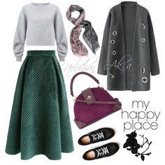 Hijab fashion outfit #fashion #Hijab #Outfit