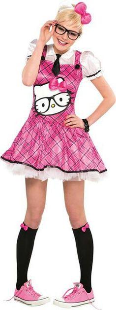 hello kitty costume - Halloween Hello Kitty Costume