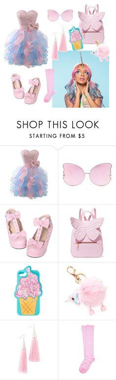 """pink unicorn"" by sos-x-girl on Polyvore featuring мода, Matthew Williamson, Sophia Webster и Eddie Borgo"