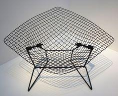 Harry Bertoia ~ Model 421LU Diamond ~ Chair for Knoll International ~ 1950-1952