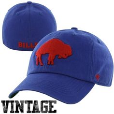 Buffalo Bills Blue Legacy Franchise Fitted Hat