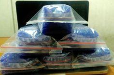 Jual Silica Gel Blue 1kg | Murah Banget with Double Clip | DESICCANTO SURABAYA - DESICCANTO SURABAYA