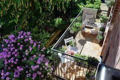 Una pequeña terraza para disfrutar... ¡y con bajo presupuesto! | Decorar tu casa es facilisimo.com