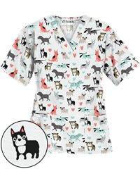 Animal Print Scrubs, Animal Scrubs, and Veterinary Scrubs at UA