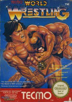 Tecmo World Wrestling (Nintendo Entertainment System, for sale online 80s Video Games, Vintage Video Games, Classic Video Games, Vintage Games, Playstation, Ps4, Wrestling Games, Wrestling Videos, Wrestling Online