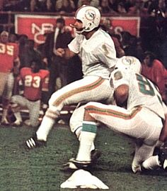 Garo Yepremian Detroit Lions 1966-67, Miami Dolphins 1970-78, New Orleans Saints 1979 and Tampa Bay Buccaneers 1980-81.