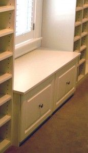 small walk in closet with window - Google Search