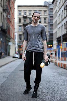 Nick in RICK OWENS @Street of NY