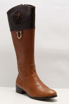Frye Inspired Cognac Boots #fryeinspired #ridingboots