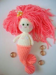amigurumi marmaid doll