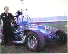 Bob Harris and the sprint car 1964,