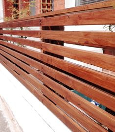 How To Create a Floating Cedar Wood Slat Fence StepByStep Tutorial is part of Front garden Shrubs - A modern update to a victorian period house small front garden with a DIY tutorial on how to create a floating looking horizontal wood fence