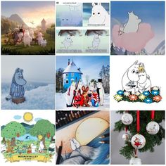 It's been a Moominous year❤️ Thank you all😘 Tove Jansson, Best Nine, Moomin, Polaroid Film