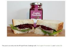 What is your favourite Proper Sandwich? by food blogger A Strong Coffee. www.englishprovender.com
