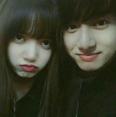 When gf is mad so you decided to take a selca instead 😂💗💓 Kpop Couples, Cute Couples, Jung Kook, Jikook, Bts Korea, Bts Girl, Blackpink And Bts, Korean Couple, Blackpink Lisa