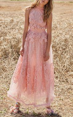 Halter Neck Midi Dress by Costarellos