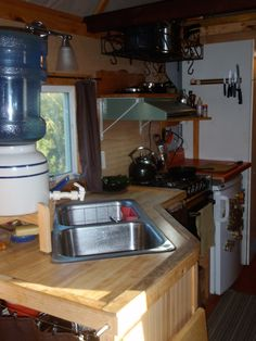 Gravity Fed Water For The Off Grid Sink Ideas For My