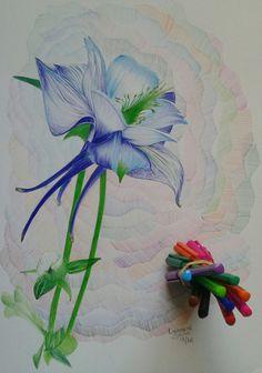 Flor  Canetas esferográfica