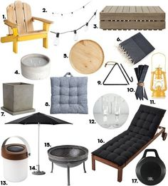 Makeover Your Summer: A Complete Outdoor Space Shopping List for Under $700 | Apartment Therapy