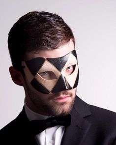 Mens Masquerade Outfit, Masquerade Ball, Harlequin Pattern, Black Tie Affair, Masked Man, Art Themes, Staple Pieces, Sexy Men, Hot Guys
