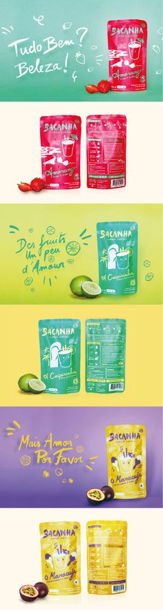 Bacanha. Changing the way you drink cocktail. #Packaging #Design #Cocktail