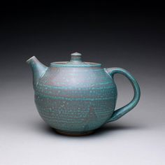 handmade teapot tea kettle ceramic pot with by rmoralespottery, $100.00