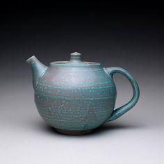 handmade teapot tea kettle ceramic pot with by rmoralespottery, $100.00