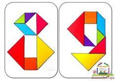 origami - tangram etkinlikleri için (1)