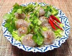Steamed Tapioca Balls - one of my fave foods in Thailand