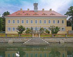 Jagdschloss Graupa in Sachsen