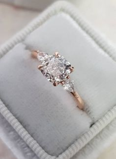 """Acquire terrific suggestions on """"diamond engagement rings cushion"""". They are… Acquire terrific suggestions on """"diamond engagement rings cushion"""". They are readily available for you on our web site. Engagement Rings Cushion, Dream Engagement Rings, Princess Cut Engagement Rings, Rose Gold Engagement Ring, Vintage Engagement Rings, Oval Engagement, Princess Wedding, Diamond Wedding Rings, Three Stone Engagement Rings"""