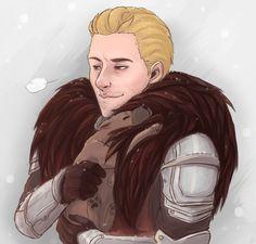 "fandomandother: "" Cuddling Cullen by FalseSecurity "" Dragon Age Games, Dragon Age 2, Dragon Age Origins, Dragon Age Inquisition, Skyrim, Cullen Dragon Age, Dragon Age Characters, Dragon Age Series, Game Art"