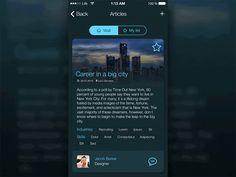 Blog app concept 012