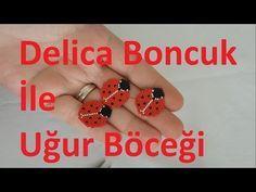 Miyuki delica boncukla uğur böceği nasıl yapılır?How to make a ladybug using miyuki delica?#DIY - YouTube