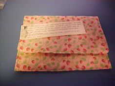 strawberry microwave baked potato bags  fruit by Georgia1Stringer, $7.00