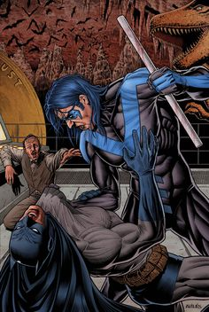 nightwing vs batman - Google Search